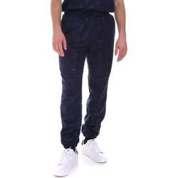 tekstylia Męskie Spodnie dresowe Fila 687880 Niebieski