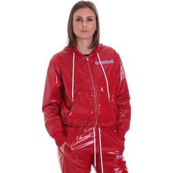 tekstylia Damskie Kurtki lekkie La Carrie 092M-TJ-430 Czerwony
