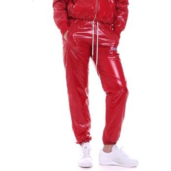 tekstylia Damskie Spodnie dresowe La Carrie 092M-TP-431 Czerwony