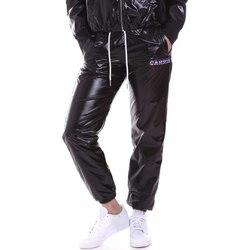 tekstylia Damskie Spodnie dresowe La Carrie 092M-TP-411 Czarny