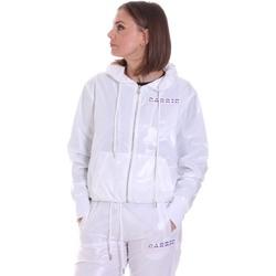 tekstylia Damskie Kurtki lekkie La Carrie 092M-TJ-420 Biały