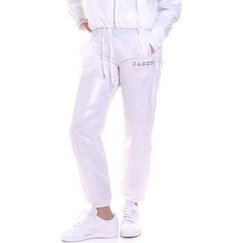 tekstylia Damskie Spodnie dresowe La Carrie 092M-TP-421 Biały