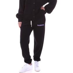 tekstylia Damskie Spodnie dresowe La Carrie 092M-TP-311 Czarny