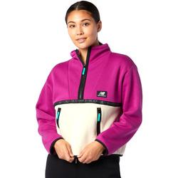 tekstylia Damskie Polary New Balance NBWT03529JJL Różowy
