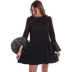 tekstylia Damskie Sukienki Jijil JPI19AB380 Czarny