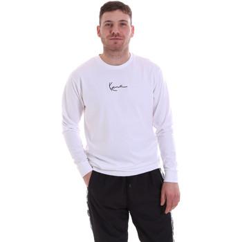 tekstylia Męskie Bluzy Karl Kani KRCKKMQ22002WHT Biały