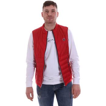 tekstylia Męskie Kurtki pikowane Gaudi 811BU35013 Czerwony