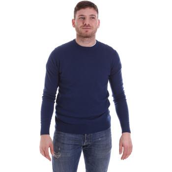 tekstylia Męskie Swetry John Richmond CFIL-117 Niebieski