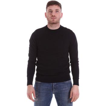 tekstylia Męskie Swetry John Richmond CFIL-117 Czarny