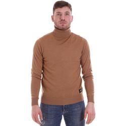 tekstylia Męskie Swetry John Richmond HMA19056LU Beżowy
