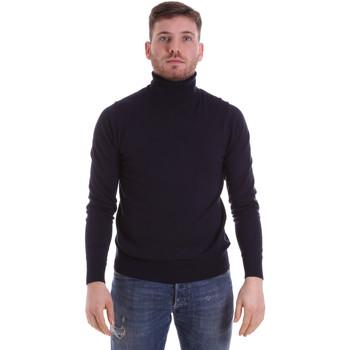 tekstylia Męskie Swetry John Richmond CFIL-007 Niebieski