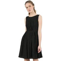 tekstylia Damskie Sukienki krótkie Molly Bracken R1532H20 Czarny