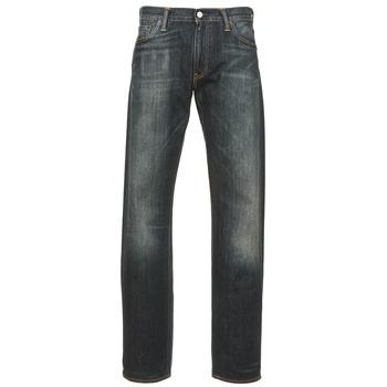 tekstylia Męskie Jeansy straight leg Levi's 504 REGULAR STRAIGHT FIT Niebieski / Fonce