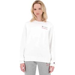 tekstylia Damskie Bluzy Champion 114712 Biały