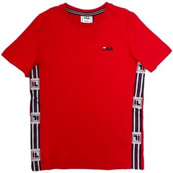 tekstylia Dziecko T-shirty z krótkim rękawem Fila 688118 Czerwony