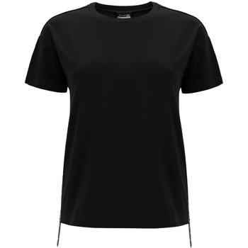 tekstylia Damskie T-shirty z krótkim rękawem Freddy F0WSDT5 Czarny