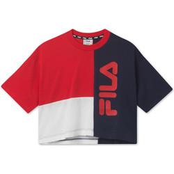tekstylia Dziecko T-shirty z krótkim rękawem Fila 687998 Czerwony