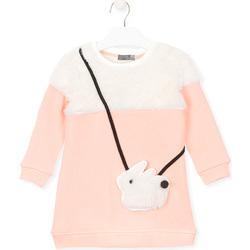 tekstylia Dziewczynka Bluzy Losan 026-7007AL Różowy