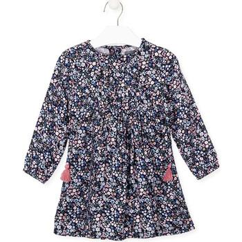 tekstylia Dziewczynka Sukienki Losan 026-7021AL Niebieski