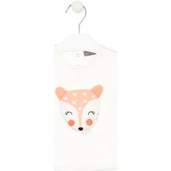 tekstylia Dziecko T-shirty z długim rękawem Losan 028-1004AL Biały