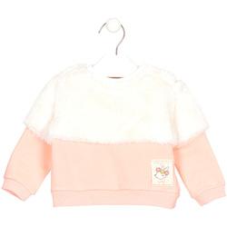 tekstylia Dziecko Bluzy Losan 028-6011AL Różowy