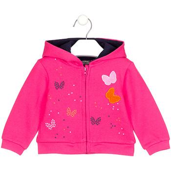 tekstylia Dziewczynka Bluzy Losan 028-6017AL Różowy