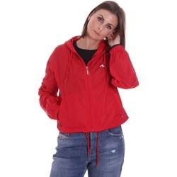 tekstylia Damskie Kurtki lekkie Fila 687601 Czerwony