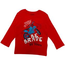 tekstylia Dziecko T-shirty z długim rękawem Losan 025-1201AL Czerwony