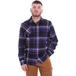 tekstylia Męskie Koszule z długim rękawem Dickies DK520352EL01 Niebieski