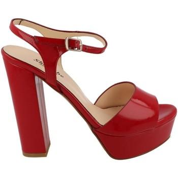 Buty Damskie Sandały L'amour  Rojo