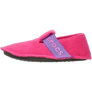 Buty Dziecko Obuwie domowe Crocs 205349 Różowy