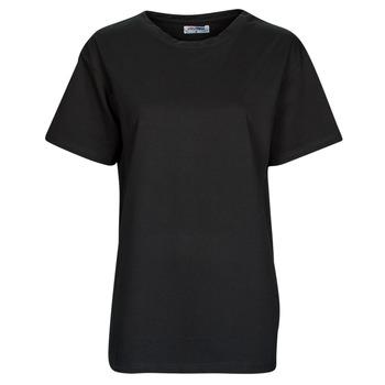 tekstylia Damskie T-shirty z krótkim rękawem Yurban OKIME Czarny