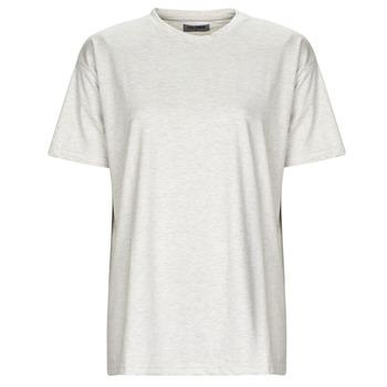 tekstylia Damskie T-shirty z krótkim rękawem Yurban OKIME Szary