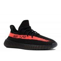 Buty Trampki niskie adidas Originals Yeezy Boost 350 V2 Red Stripe Core Black/Red/Core Black