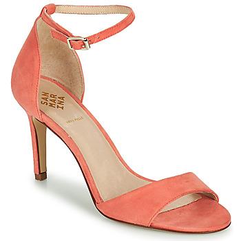 Buty Damskie Sandały San Marina ARLANA/VEL Różowy