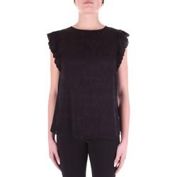 tekstylia Damskie Topy / Bluzki Versace B0HWA631-09475 Czarny