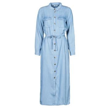 tekstylia Damskie Sukienki długie Only ONLCASI Niebieski / Medium