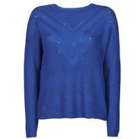 tekstylia Damskie Swetry Only ONLTRIXIE Niebieski