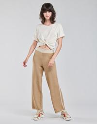 tekstylia Damskie Krótkie spodnie Only ONLLILA Beżowy