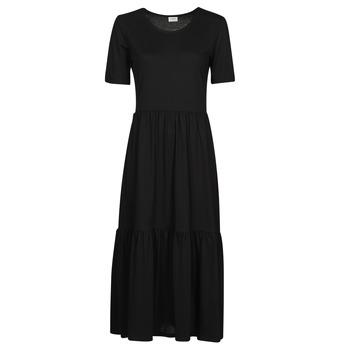 tekstylia Damskie Sukienki długie JDY JDYDALILA FROSTY Czarny