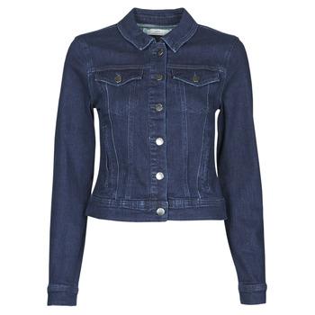 tekstylia Damskie Kurtki jeansowe JDY JDYNEWWINNER STR JACKET BOX DNM NOOS Niebieski / Medium