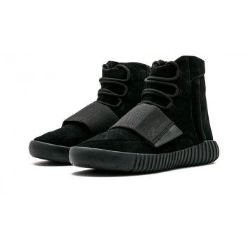 Buty Trampki wysokie adidas Originals Yeezy Boost 750 Triple Black Charcoal Black