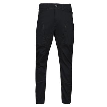 tekstylia Męskie Spodnie bojówki G-Star Raw ZIP PKT 3D SKINNY CARGO Czarny