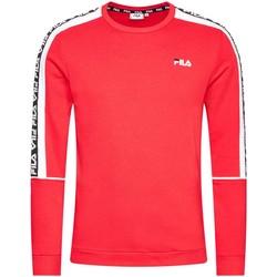 tekstylia Męskie Bluzy Fila 688812 Czerwony