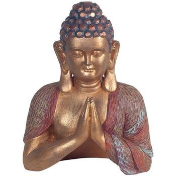 Dom Statuetki i figurki  Signes Grimalt Modląc Buddę Dorado