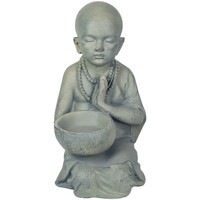 Dom Statuetki i figurki  Signes Grimalt Little Buddha Pocillo Gris