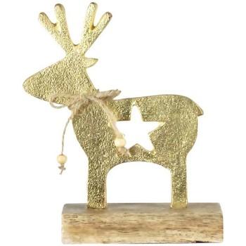 Dom Dekoracje bożonarodzeniowe  Signes Grimalt Renifer Dorado