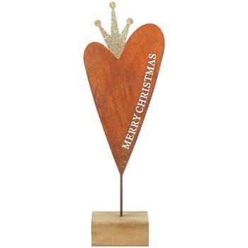 Dom Dekoracje bożonarodzeniowe  Signes Grimalt Serce Z Drewna Multicolor