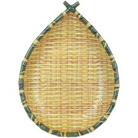 Dom Pudełka i tacki na drobiazgi  Signes Grimalt Warzywniaku Bamboo Tray Amarillo