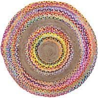 Dom Dywany Signes Grimalt Okrągły Dywan Multicolor